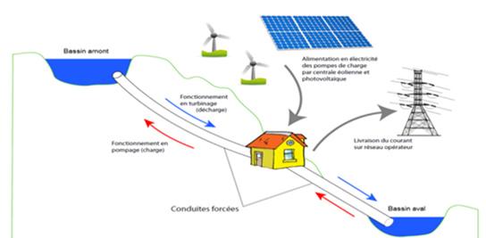 Schéma de principe de la Micro-STEP de Berrien