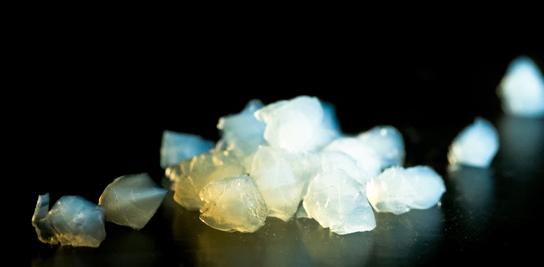 Granules millimétriques de xérogels de silice superisolants