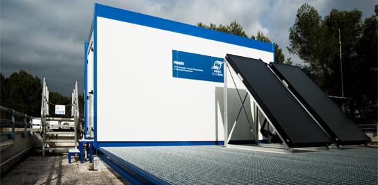 Plateforme solaire CRESUS au centre PERSEE de MINES ParisTech