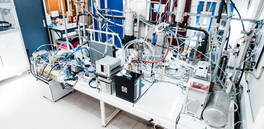 Le laboratoire Piles À Combustible est équipé de 4 bancs d'essais.